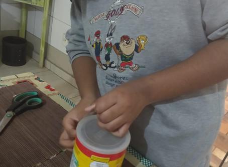 O CEV não para ! Confira as atividades de artes das nossas crianças e jovens!