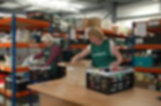 Norfolk - volunteers at Norwich Foodbank