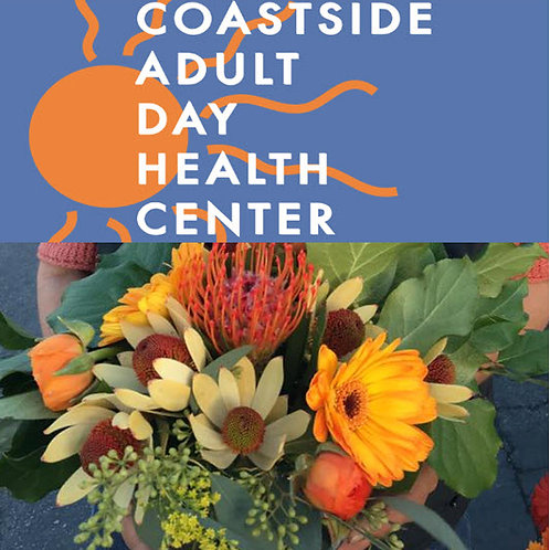 Donate Floral Bubble Bowl to Coastside Adult Day Health Center