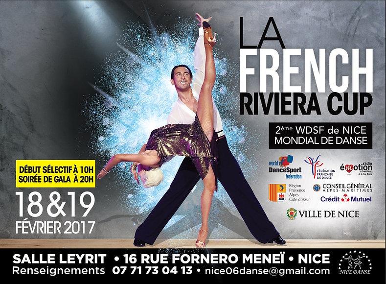 Affiche de la 2ème French Riviera Cup
