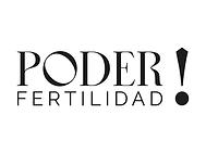 LOGO PODER FERTILIDAD_NEGROfondo blanco.