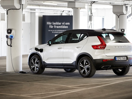 Volvo pretende dar segunda vida às baterias dos carros