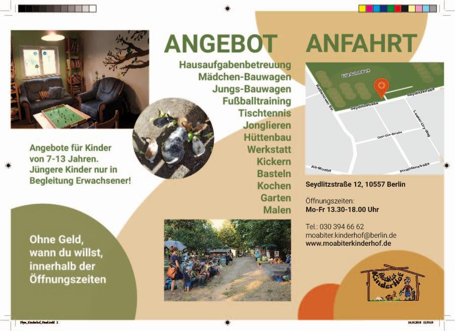 Flyer Kinderbauernhof
