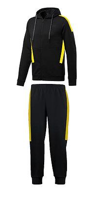 Buzo deportivo unisex color negro Texal