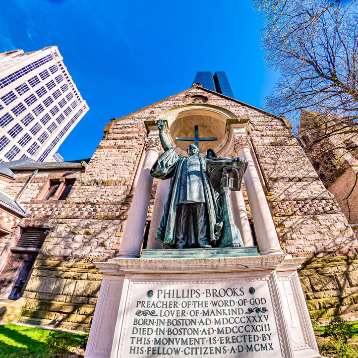 Back Bay in Boston is full of incredible history.