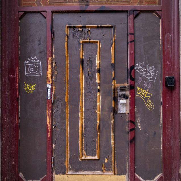 Door in Chinatown.
