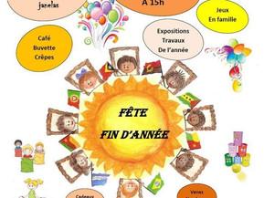 Festa Final do Ano Letivo de ensino de português em Strasbourg - Dimanche 16 Juin à 15h