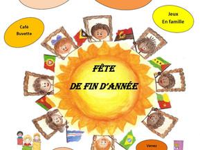Festa Final do Ano Letivo de ensino de português em Strasbourg - Dimanche 17 Juin à 15h