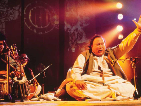 Nusrat Fateh Ali Khan, Womad 1985: the qawwali star invokes rapture