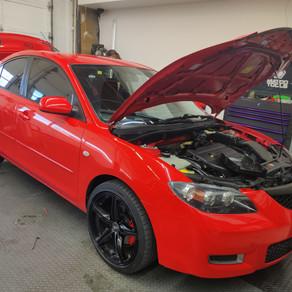 Mazda 3. Tacoma Foss car 🚗 audio and tint. C.P.