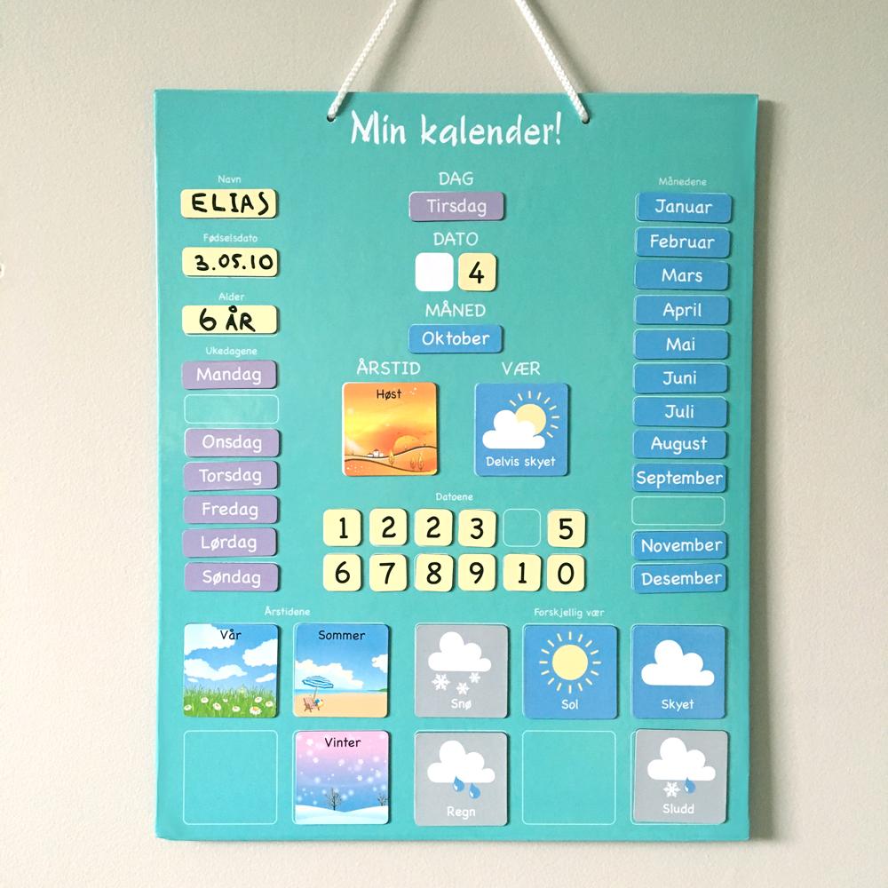 Min kalender
