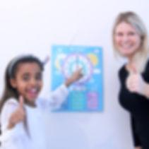 Klokka, pedagog, barn, skole, barnehage