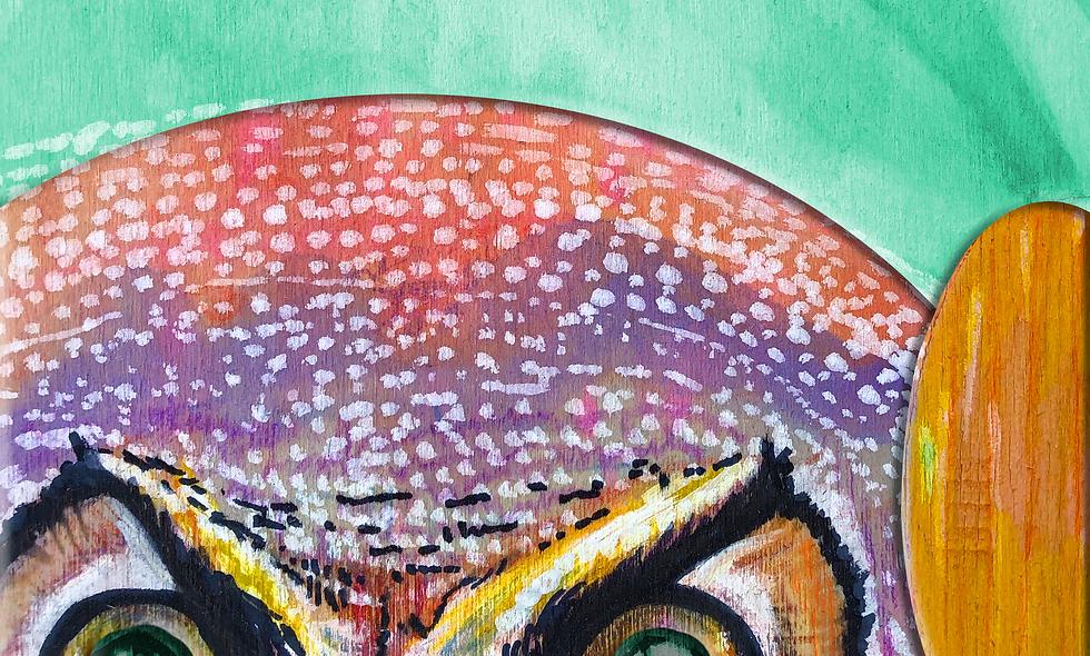 Spirit Animal Print- Owl