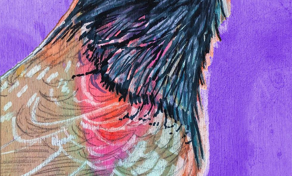 Spirit Animal Print-Raven