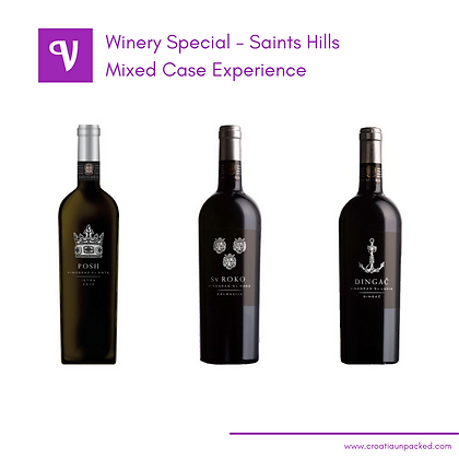 Mixed Wine Case - Croatian wine - available for home delivery across Ontario