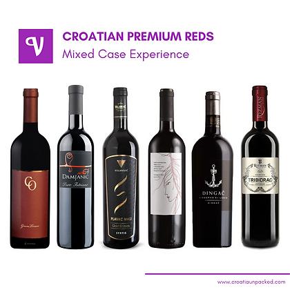 Croatian Premium Red Wine Mixed Case