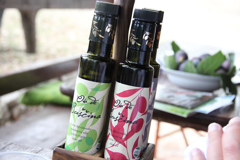 Buščina extra virgin olive oil