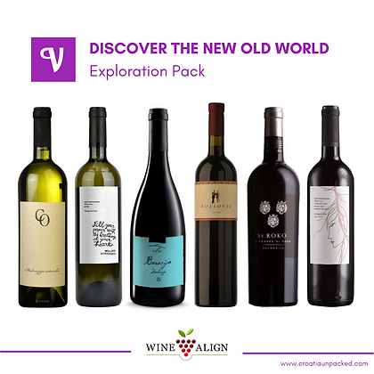 Mixed Case - Croatian Wine - Wine Align event - Discover the New Old World