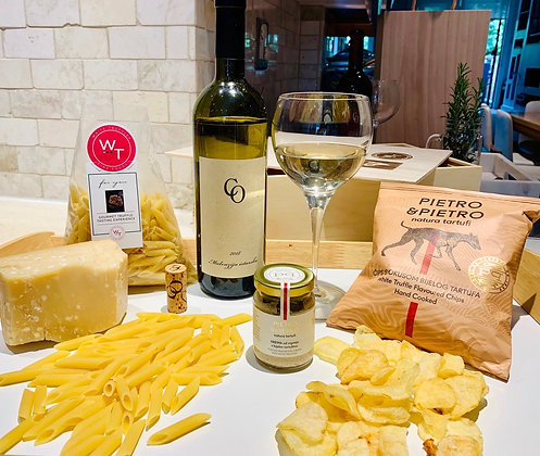 Gourmet Croatian Wine & Truffle Dinner Gift set