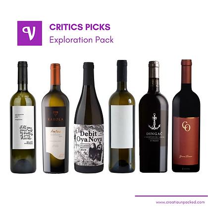 Critics Picks - Exploration Pack
