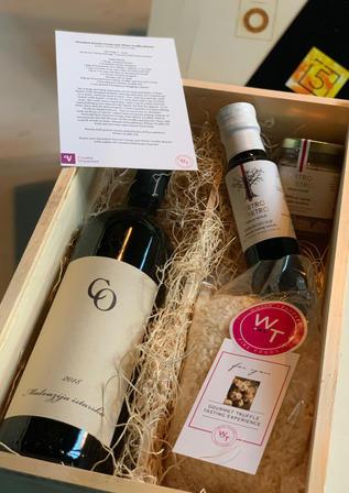 Decadent Wine and Truffle Gift Set