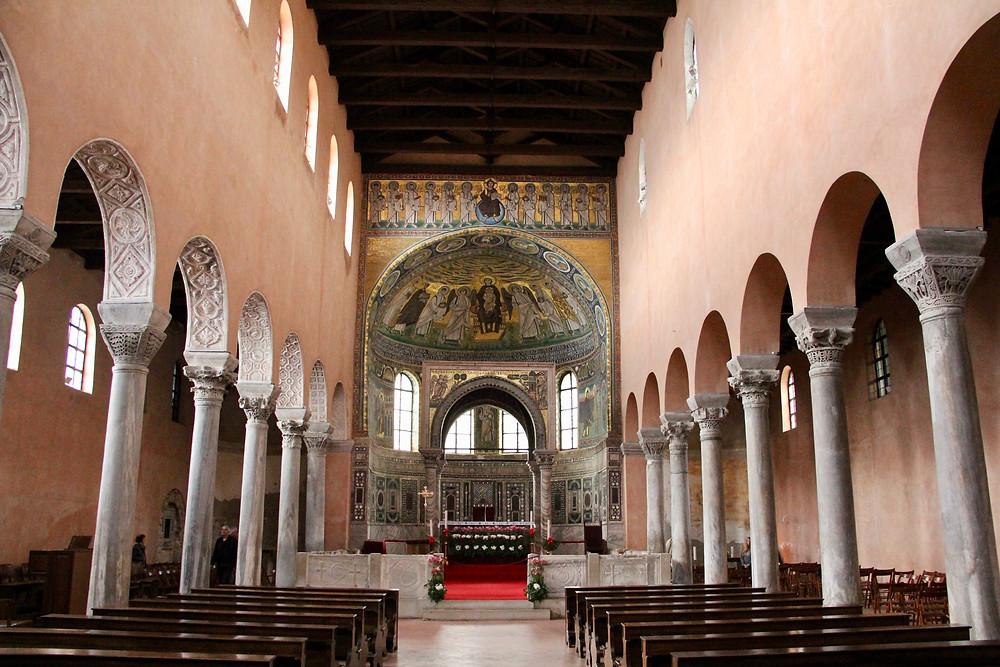 Euphrasian Basilica interior