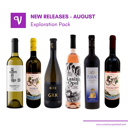 August New releases - mixed case of wines