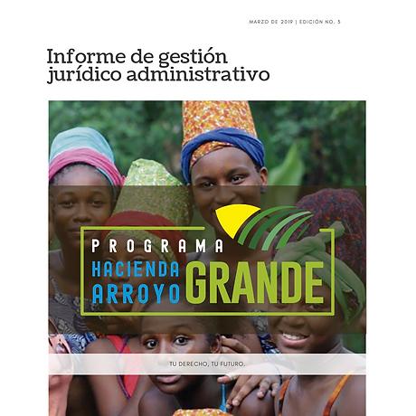 Informe de gestion juridico - administra