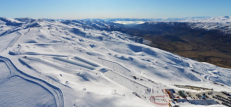 Cardrona Alpine Resort Copyright Aerial