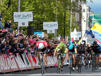 GERMANY'S KITTEL BEATS GB'S SWIFT IN DUBLIN SPRINT