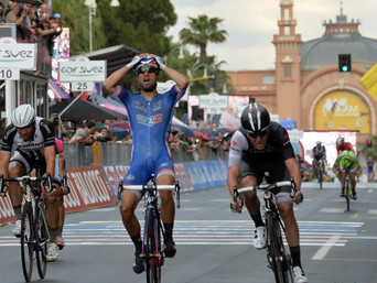 BOUHANNI WINS FOR FRANCE IN BARI, AND TAKES THE MAGLIA ROSSA