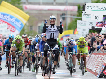 GERMANY'S KITTEL STORMS THROUGH RAIN TO VICTORY