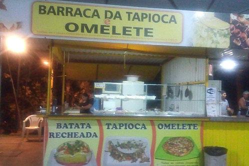 Barraca da tapioca e omelete