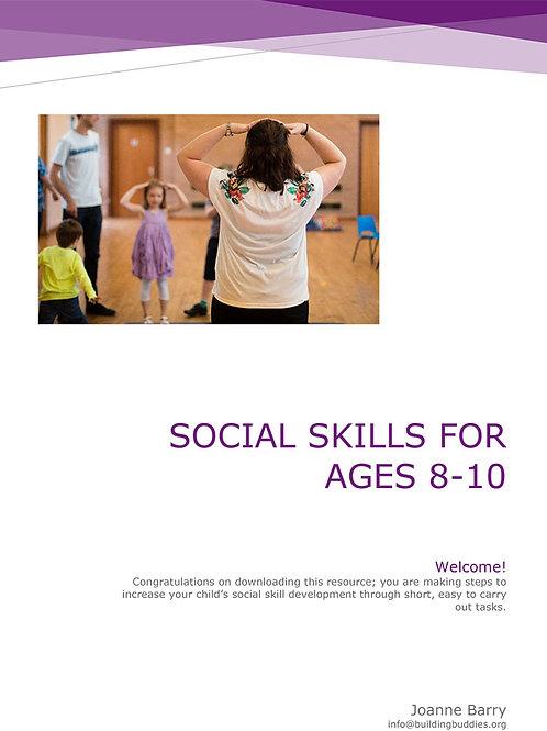 Social Skills Curriculum 1 Age 8-10