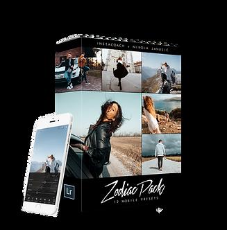 ZODIAC PACK - Mobile version