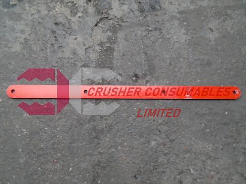 D5520000 TOP SCRAPER CLAMP PLATE | QJ240 / C10 | SANDVIK / EXTEC