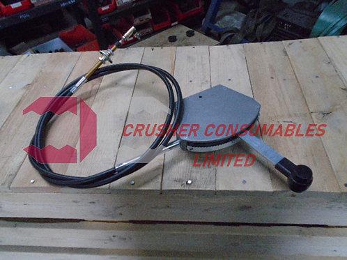 EN7932  THROTTLE CABLE | SANDVIK / EXTEC