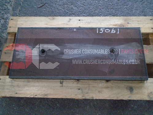 15061 Impact plate 30mm   RUBBLEMASTER RM60
