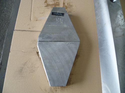 581190 FIXED JAW WEDGE UPPER A  | METSO / NORDBERG LT105