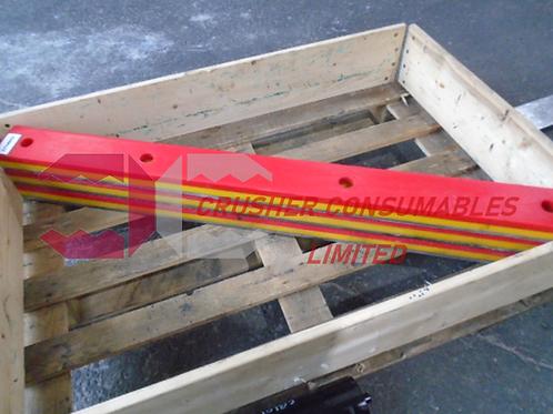 D7140000 Conveyor Base Impact Bar | Sandvik QJ340 / QJ341 & Extec C12 / C12+