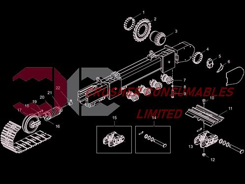 12.99.0358 Hex bolt | TEREX FINLAY J-1175