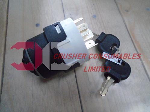 14-05-0010 ENGINE IGNITION SWITCH | QJ240 / QJ241 / C10 / C10+ | SANDVIK / EXTEC
