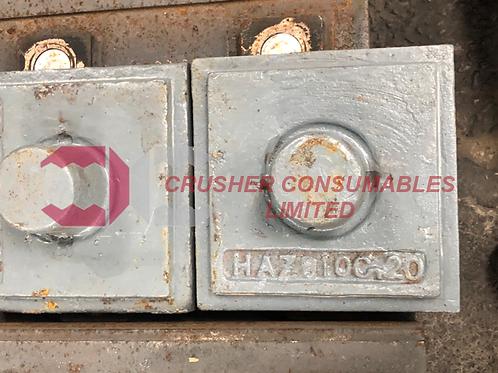018103 LINER PLATE - SQUARE 50MM | I-C13 | EXTEC / SANDVIK