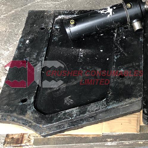 J4590000 UPPER CHEEK PLATE RH - STANDARD 14% MN | EXTEC / SANDVIK