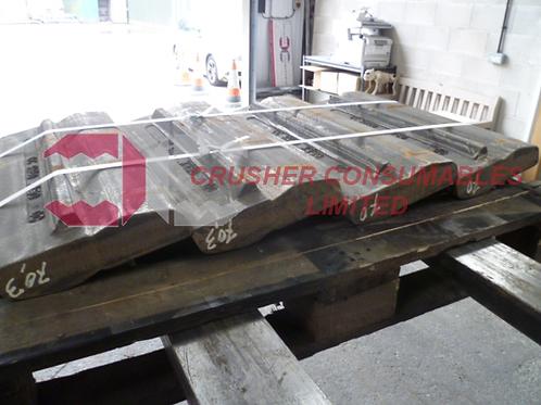 30049 Blow bar / hammer - 27% Cr (red) | Rubblemaster RM60
