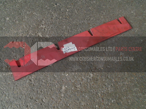 20.1160.03.01 Feedboot rear rubber | TEREX FINLAY J-1160
