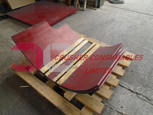 1048512826 Main frame liner | METSO / NORDBERG HP200