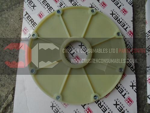05790360 BOWEX PLASTIC ENGINE FLANGE | TEREX POWERSCREEN / FINLAY