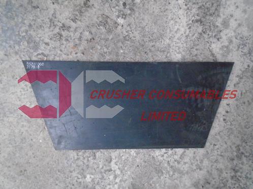 D5710000 RUBBER (FEED BOOT REAR INSIDE)   QJ240 / C10   SANDVIK / EXTEC