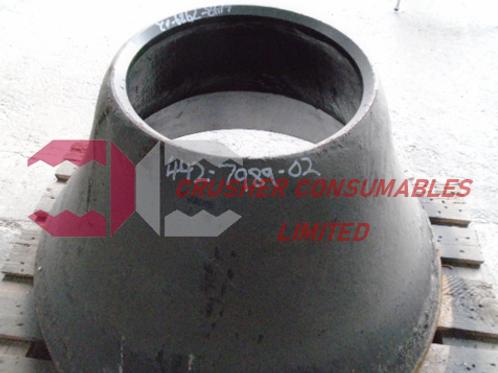 442.7989-02 Mantle-B 18% Mn | Sandvik / EXTEC H3800/CH430/QH331